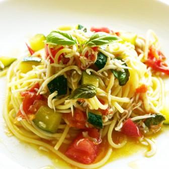 <レシピ>台風シーズンの盛夏は、冷製カッペリーニがウマイ季節
