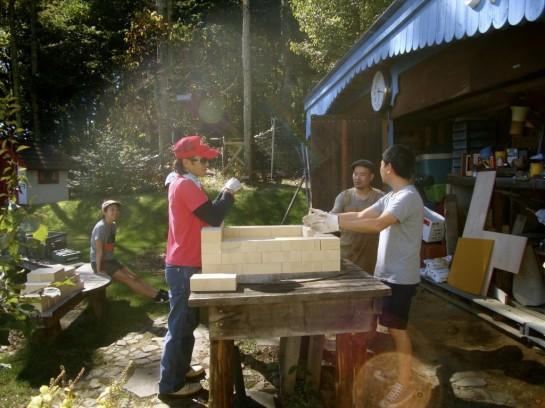 薪窯をつくって、パンを焼く – CLUB3719 檀千早