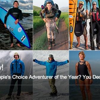 今年度ナンバー1の大冒険人な人を決定! アドベンチャー・オブ・ザ・イヤー投票受付中