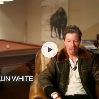 世界ナンバー1のスノーボーダー、ショーン・ホワイト独占インタビューが公開中!