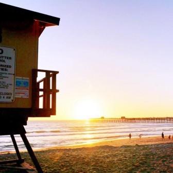 世界一のサーフタウン・カリフォルニアの素晴しきサンセット