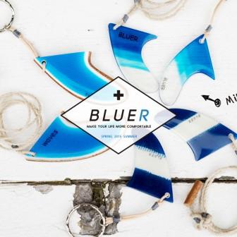 BLUER MINI FIN ーこの世にふたつとないFINのネックレスー