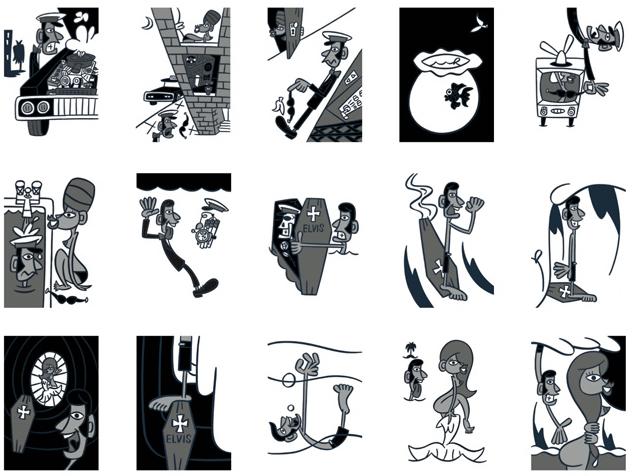 ミー・イシイ個展「BLACK&WHITE」@中目黒7/3~10