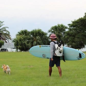 柴犬ラニと海のストーリー#01|今日も冒険に出発