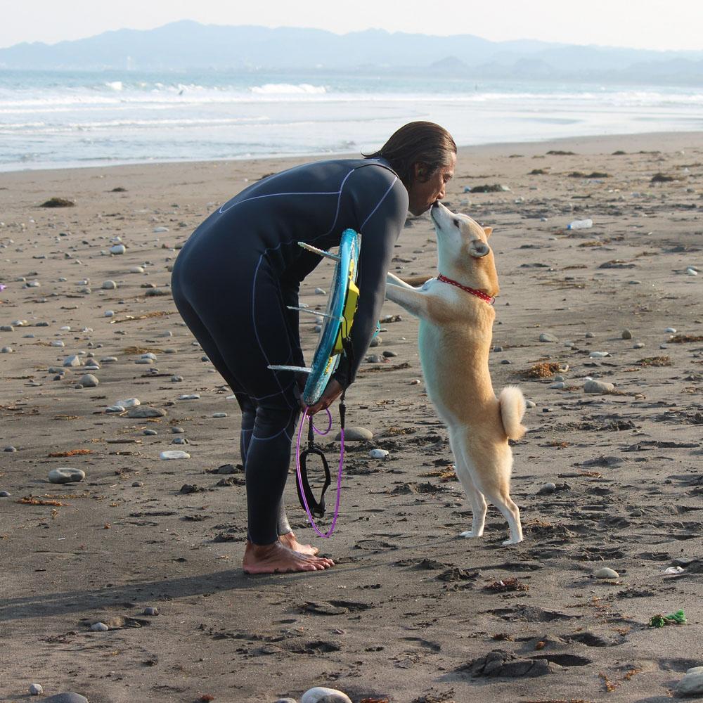 柴犬ラニと海のストーリー#02 待っていてくれて、ありがとね!