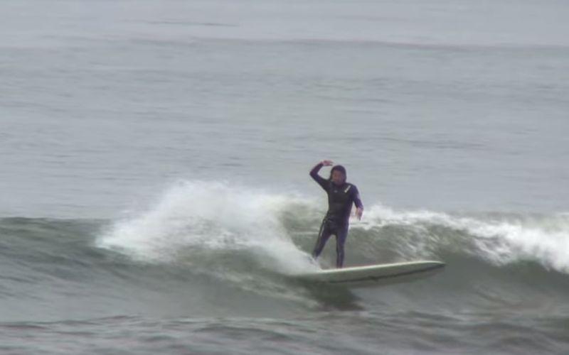 トリムの達人、宮内謙至サーフィン映像#14 BLUERサーフムービー