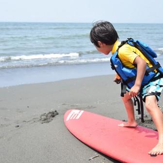 今年は親子でサーフィンしてみよう!