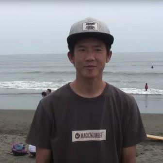 中村清太郎ハングテンとノーズライディング|BLUERサーフムービー
