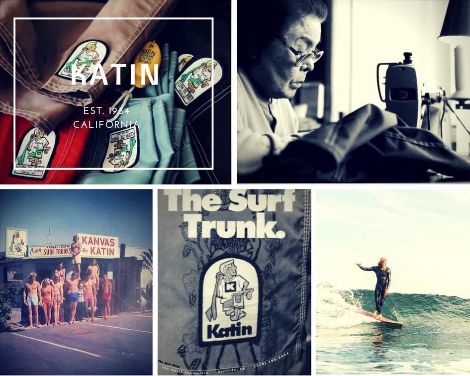 サーフィン発展のいしずえを作ったトランクスブランド-KATIN(ケイティン)