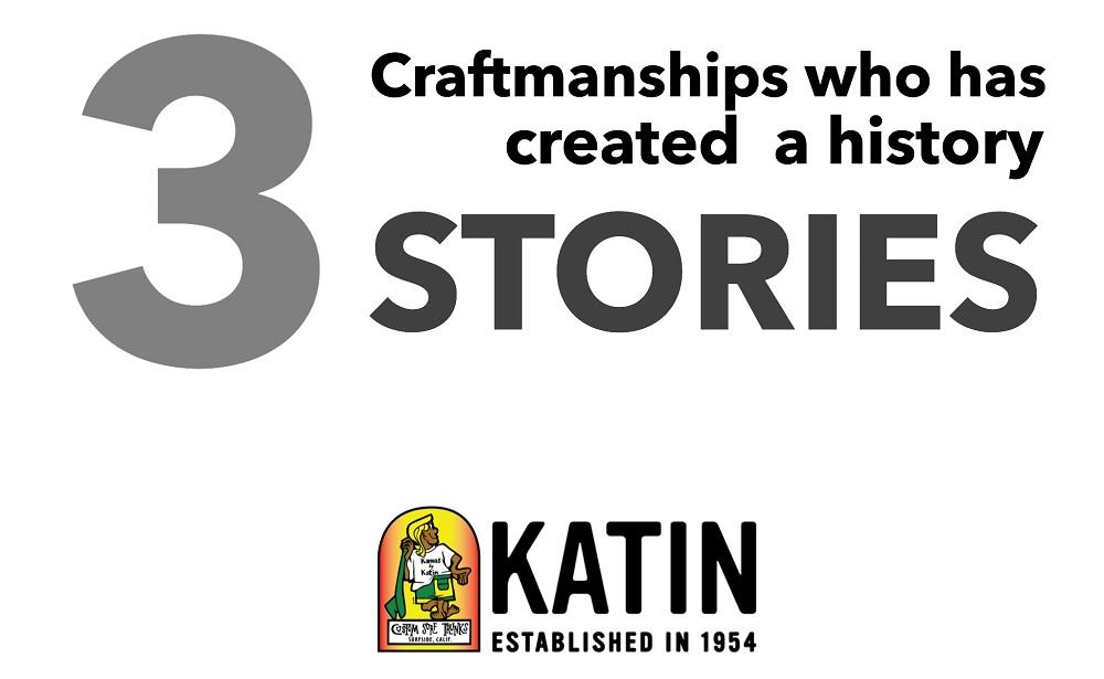 サーフィンの歴史を創ってきたブランド「KATIN」|3つのSTORY