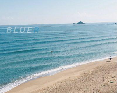 「海と陸地にある一線」-海へのお辞儀の意味